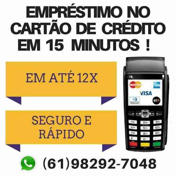 Empréstimo No Cartao de Crédito, Basta Ter Limite Disponível Para Compra. 61 982927048